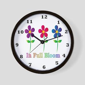 In Full Bloom Wall Clock
