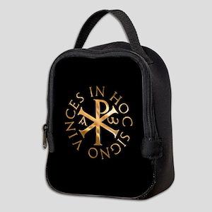 In hoc signo vinces Neoprene Lunch Bag