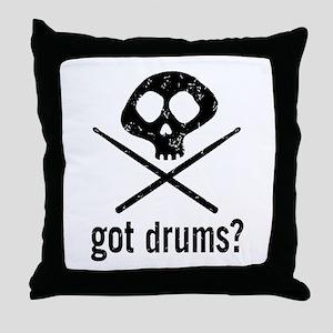 Got Drums? Throw Pillow