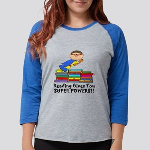 Reading Gives you Super Powers! Long Sleeve T-Shir