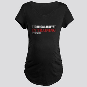 Technical Analyst Maternity T-Shirt