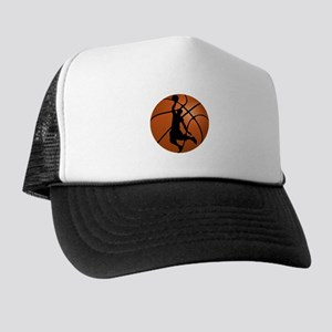 Basketball Dunk Silhouette Hat