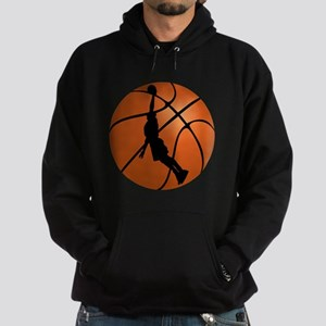 Basketball Dunk Silhouette Hoody