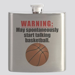 Spontaneous Basketball Talk Flask