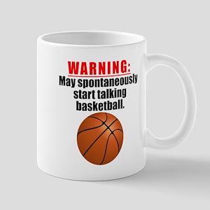 Spontaneous Basketball Talk Mugs