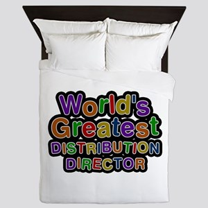 World's Greatest DISTRIBUTION DIRECTOR Queen Duvet