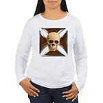 Skull & Cross Women's Long Sleeve T-Shirt