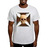 Skull & Cross Ash Grey T-Shirt