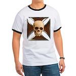 Skull & Cross Ringer T