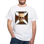 Skull & Cross White T-Shirt