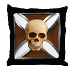 Skull & Cross Throw Pillow