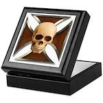 Skull & Cross Keepsake Box
