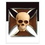 Templar Skull Poster (16 X 20)