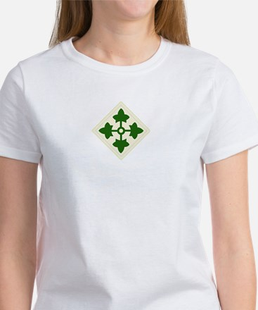 4th INFANTRY DIVISION Women's T-Shirt