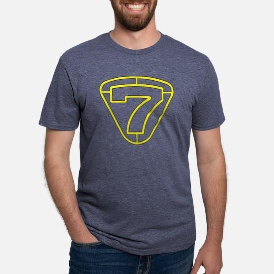 Unique 7 Mens Tri-blend T-Shirt