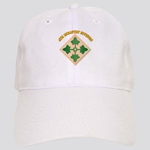 SSI - 4th Infantry Division with text Cap