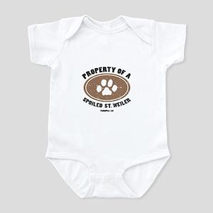 St. Weiler dog Infant Bodysuit
