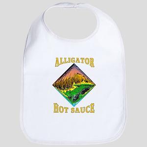 Alligator Hot Sauce Bib