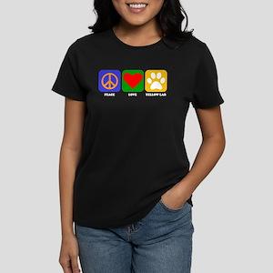 Peace Love Yellow Lab T-Shirt