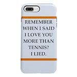 tennis iPhone 7 Plus Tough Case