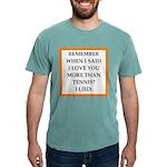 tennis Mens Comfort Colors Shirt