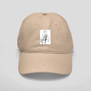 Elegant Horse Cap in White or Khaki