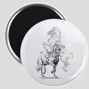 Elegant Horse Magnet
