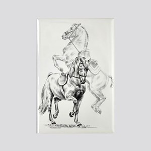 Elegant Horse Rectangle Magnet