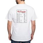 Crusades Rock Tour White T-Shirt