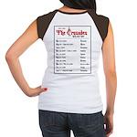 Crusades Rock Tour Women's Cap Sleeve T-Shirt