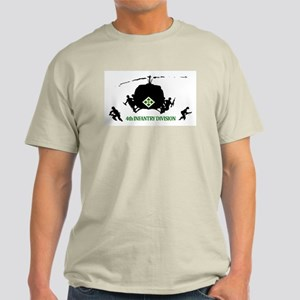 4th INFANTRY DIVISION Light T-Shirt
