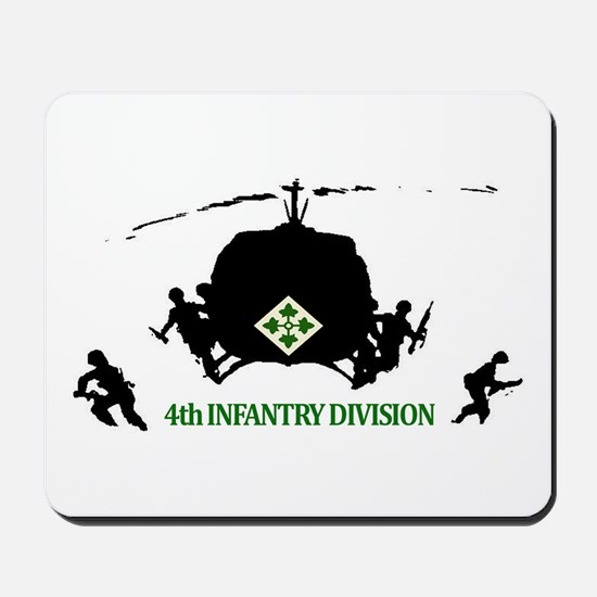 4th INFANTRY DIVISION Mousepad