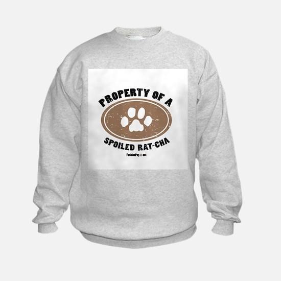 Rat-Cha dog Sweatshirt