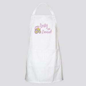(Pink) Baby on Board BBQ Apron