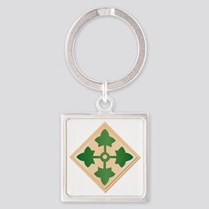 SSI - 4th Infantry Division Square Keychain