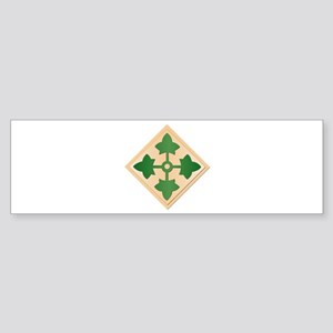SSI - 4th Infantry Division Sticker (Bumper)