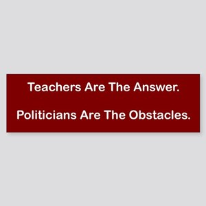 Answers Bumper Sticker