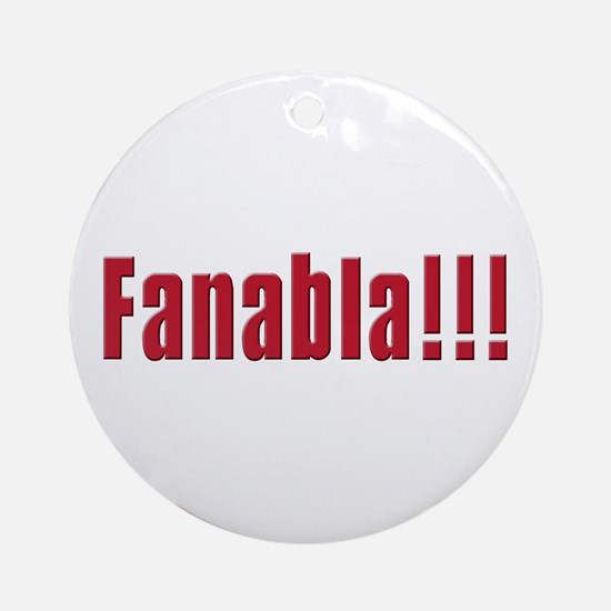 Fanabla Ornament (Round)