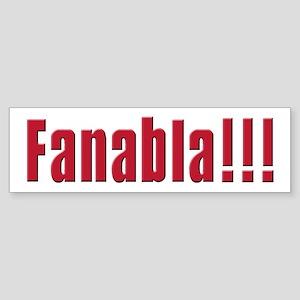 Fanabla Bumper Sticker