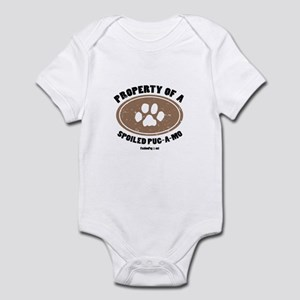 Pug-A-Mo dog Infant Bodysuit
