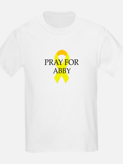 Pray for Abby Kids T-Shirt