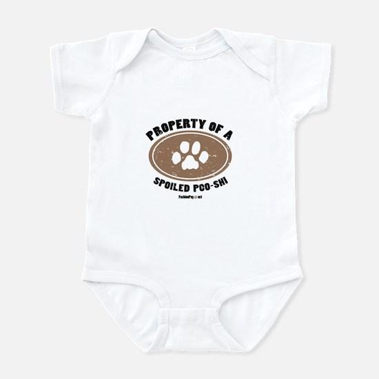 Poshies dog Infant Bodysuit