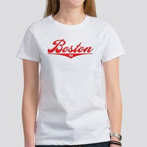 Boston MA Women's T-Shirt