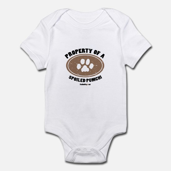 Pomchi dog Infant Bodysuit