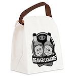 Beaver Liquors Canvas Lunch Bag