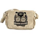 Beaver Liquors Messenger Bag