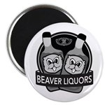 Beaver Liquors Magnet