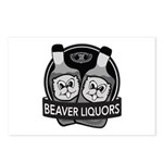 Beaver Liquors Postcards (Package of 8)