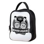 Beaver Liquors Neoprene Lunch Bag