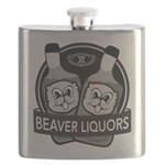 Beaver Liquors Flask